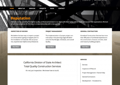 DSA Construction Industry – Backend Portal Design and Development