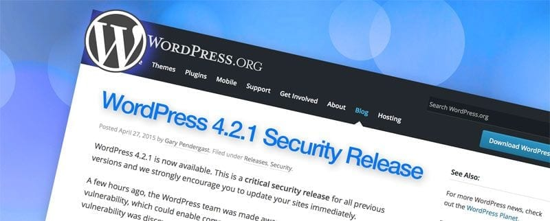 wordpress-4.2.1-security-release