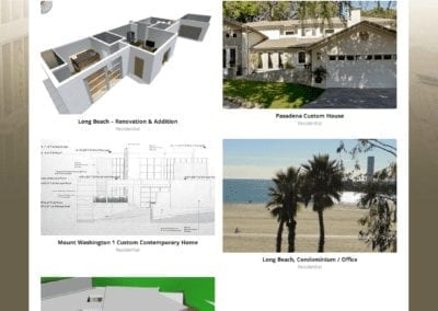 construction project portfolio category page