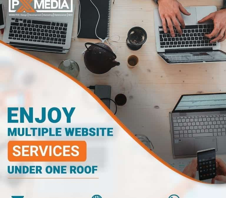 Enjoy Multiple Website Services under One Roof