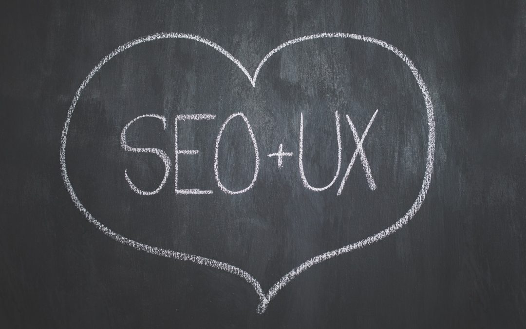 SEO and UX in a heart - as essential parts of SEO-friendly web design
